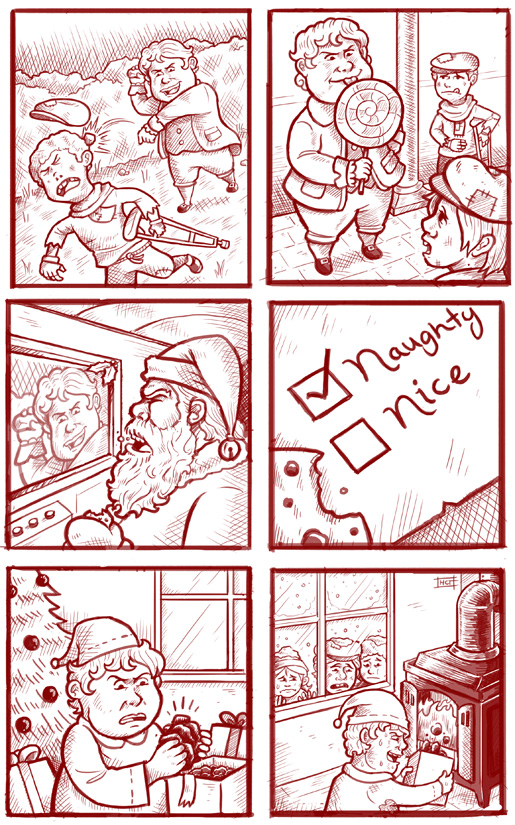 The Problem With Santa's Naughty List