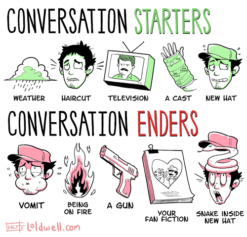 Cool conversation starters